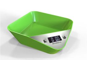 Green_LE-K10_tray_kitchen_scale