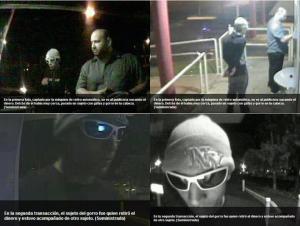 El publicista José Enrique Gómez Saladín,  desaparecido desde el jueves 29 de noviembre en Puerto Rico, y el sujeto con gafas y sombrero que se cree le robó dinero en una ATH.