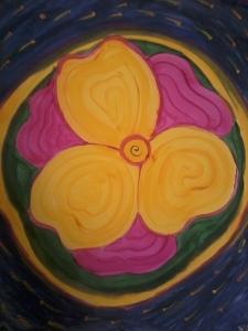 Pintura por Samadhi Yaisha ©2012 Témpera sobre papel