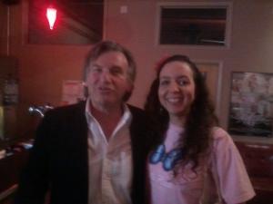 Foto con Frank Ferrante, 2012