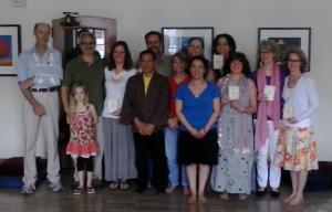 Ceremonia de los cinco entrenamientos de plena consciencia según la tradición de Thich Nhat Hanh
