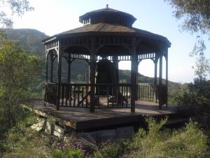 Campanario en el monasterio de Deer Park, California