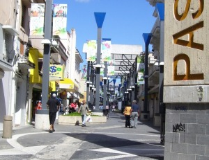 Paseo de Diego en Río Piedras, Puerto Rico