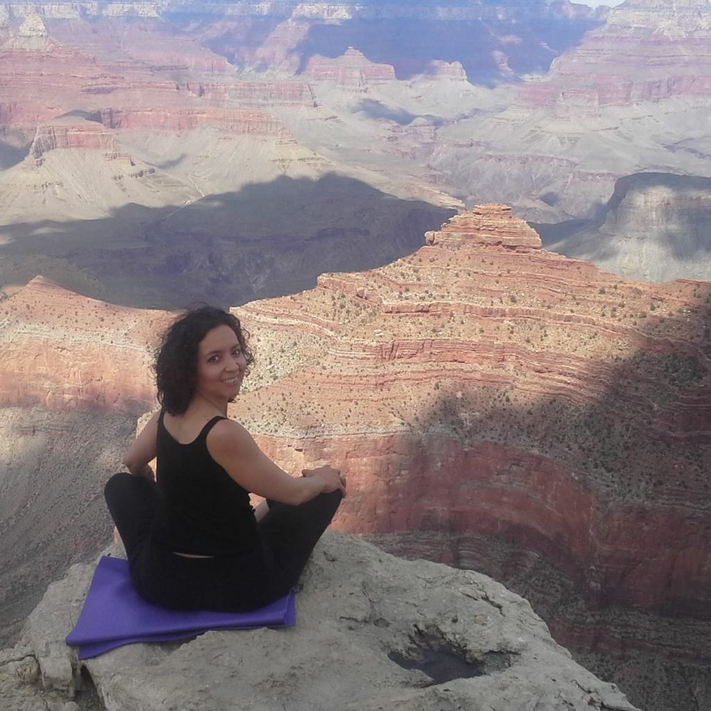 En el borde sur del Cañón del Colorado, Mather Point, mayo de 2015. Foto por Yaisha Vargas, ©2015